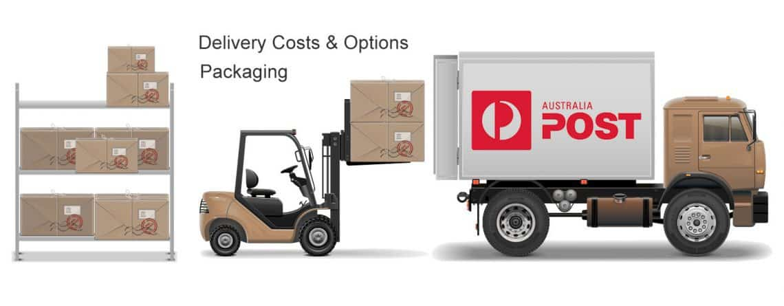 Delivery Costs, Options & Packaging