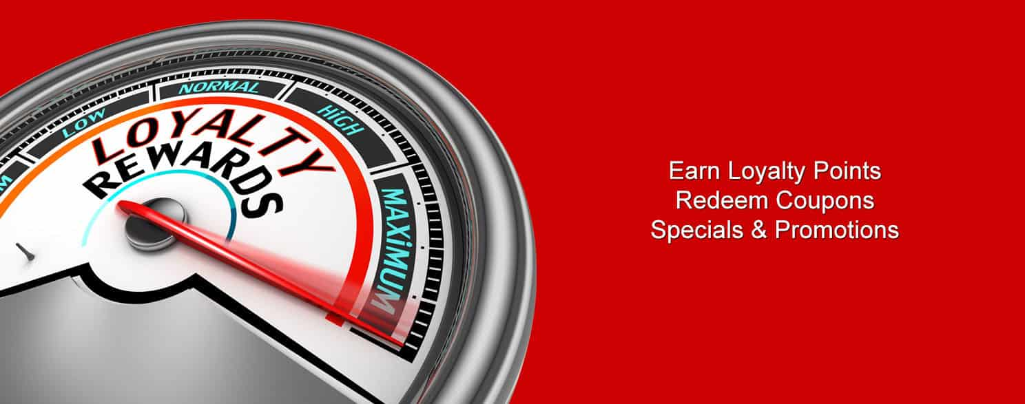 Specials, Coupons & Rewards