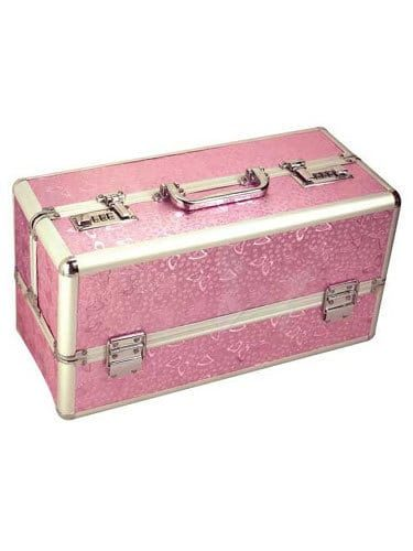 Lockable Storage Case Large (Pink)