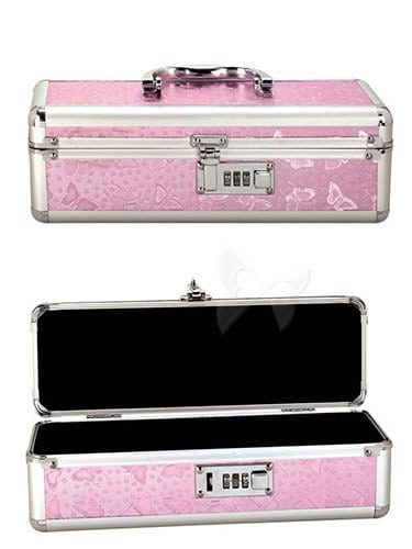 Lockable Storage Case Medium (Pink)
