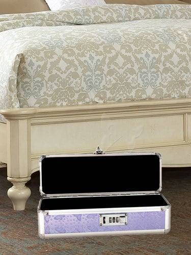 Lockable Storage Case Medium (Purple) Feature