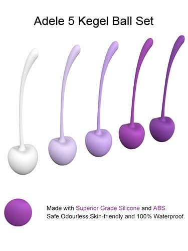 Fare L'Amore Adele Weighted 5 Kegel Balls Set