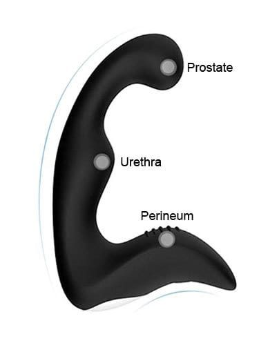 Fare L'Amore Alessandro Rechargeable Prostate Massager