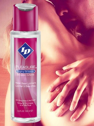 ID PLEASURE Tingling Lubricant Feature