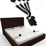 Fare L'Amore Sultry Surrender Under Bed Bondage Kit (Black)