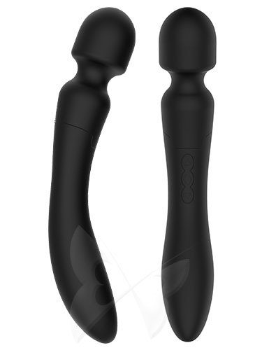 Fare L'Amore Jennifer Dual Ended Body Massage Wand (Black) Views