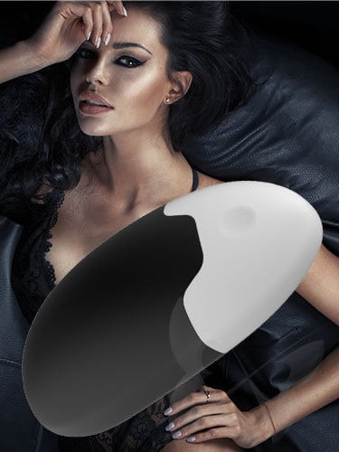 Fare L'Amore Monica Clitoral VIbrator (Black) Feature