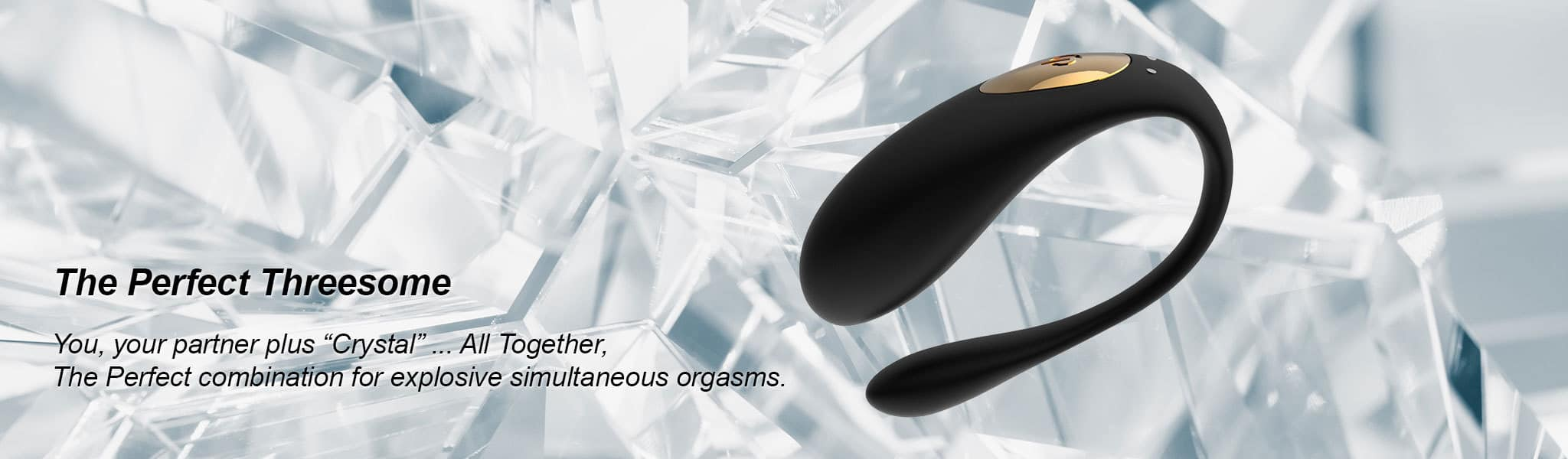 Crystal Couples Vibrator