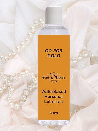 Go For Gold Luxury Personal Lubricant 250ml