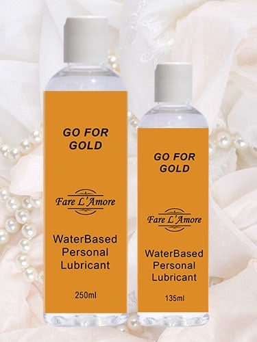 Go For Gold Luxury Personal Lubricant
