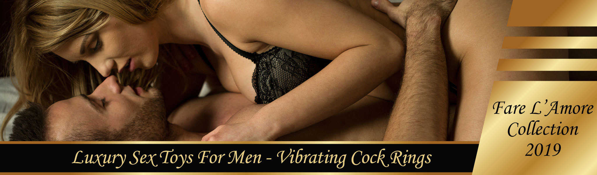 Vibrating Cock Rings | Luxury Sex Toys For Men | Fare L'Amore